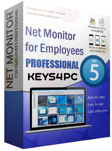 Net Monitor for Employees Pro 5.6.37 License key Crack Updated 2020