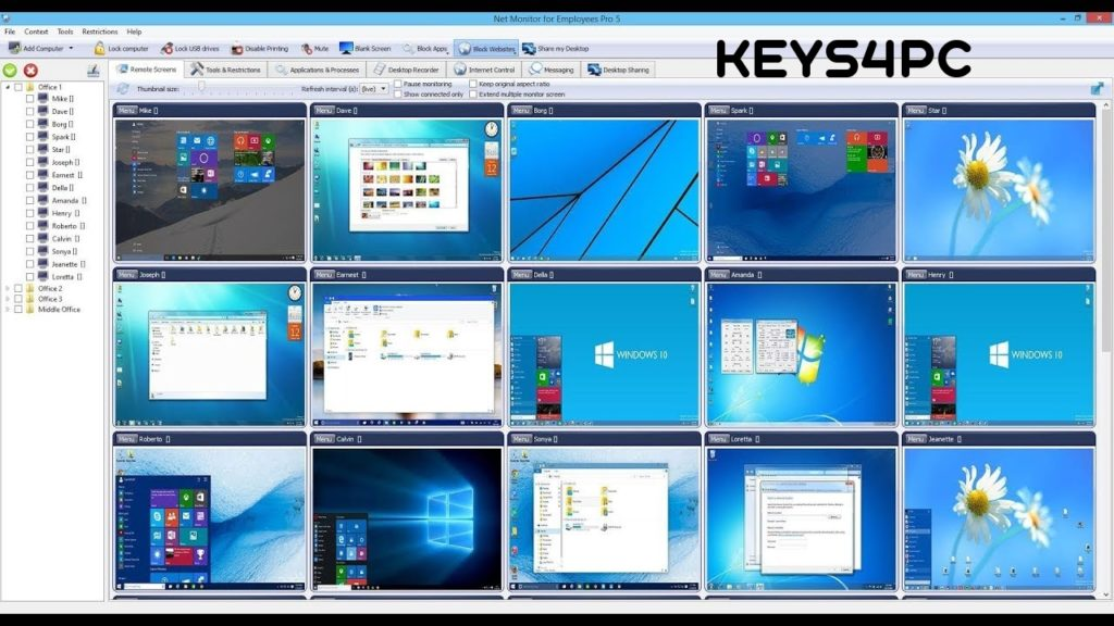 Net Monitor for Employees Pro 5.7.9 License key Crack Updated 2021