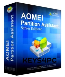 AOMEI Partition Assistant Professional Edition 8.10 License Code Crack