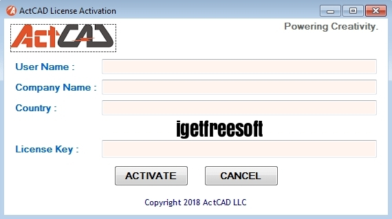 ActCAD Professional 2020 v9.2.742.0 License key Crack Free Download