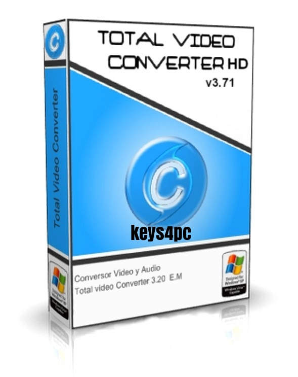 Total Video Converter PRO 3.71 Crack Free Download With Serial Key