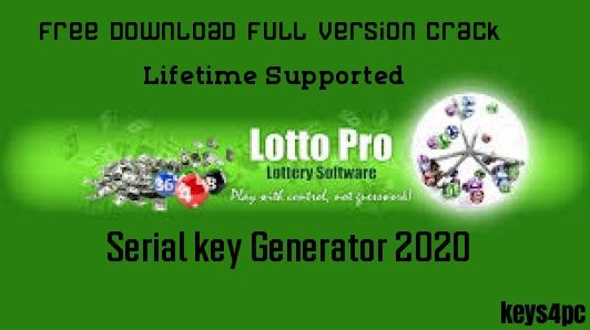 Lotto Pro 8.73 Crack With Latest Serial Key 100% Working
