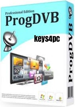 ProgDVB Professional 7.35.1 Full Crack Lifetime Serial Key Generator