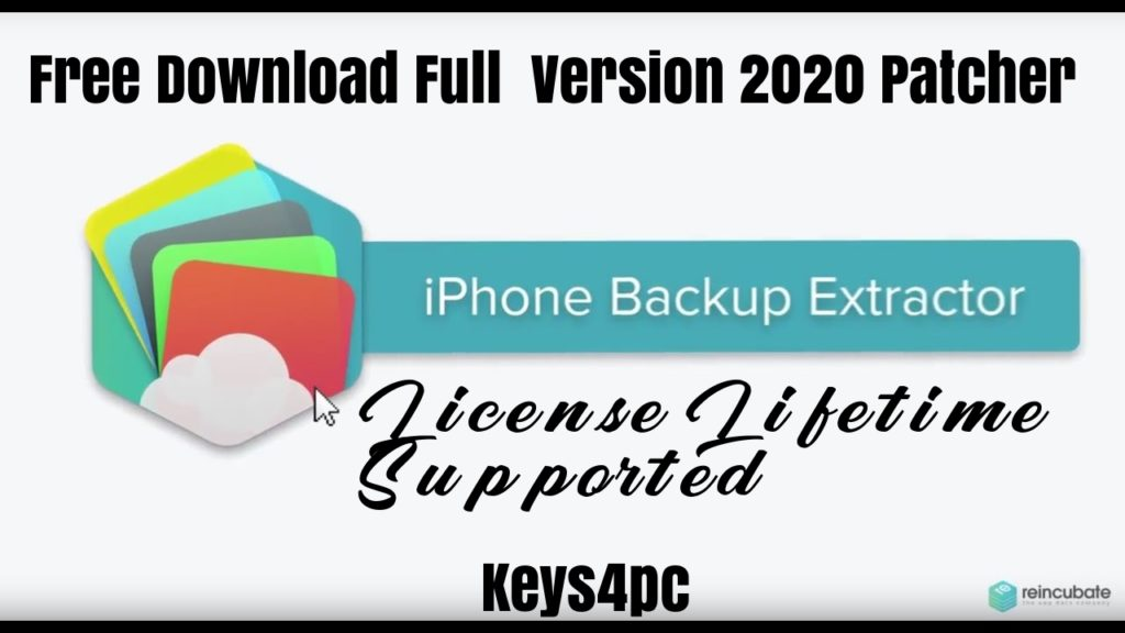 iPhone Backup Extractor 7.7.30 Build 3252 With Crack Free Download